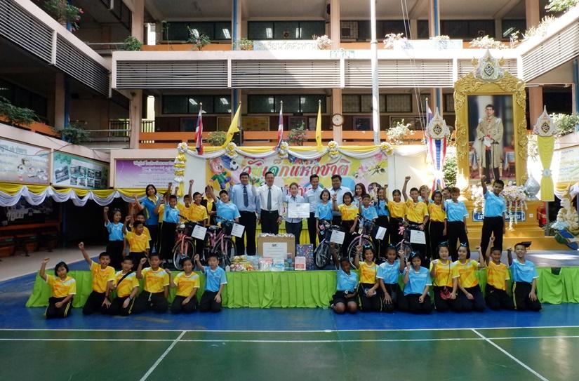 SMC มอบของขวัญวันเด็กให้น้องๆ โรงเรียนวัดสะพาน
